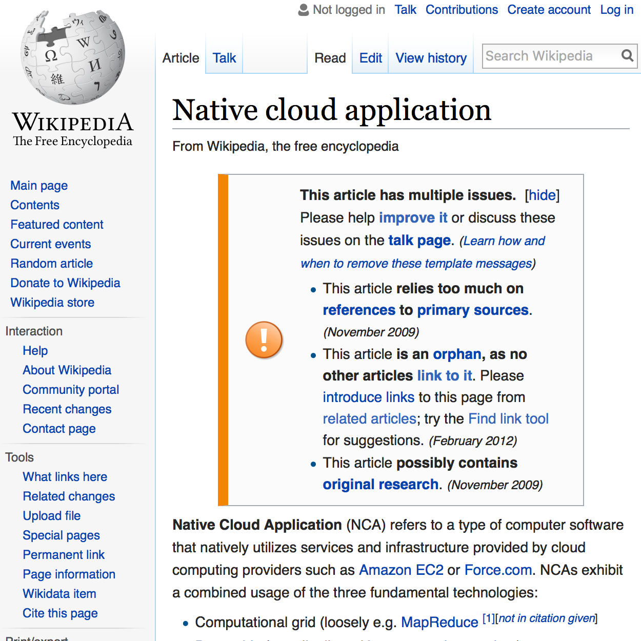 What is cloud native, anyway?